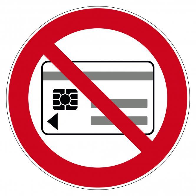 Verbotsschilder nach ASR A1.3 und DIN EN 7010 | Mitführen von magnetischen oder elektr.. | Folie