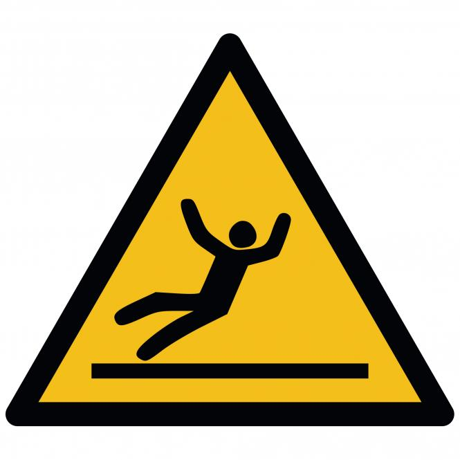 Warning Signs according to ASR A1.3 and DIN EN ISO | Warnung vor Rutschgefahr | Foil