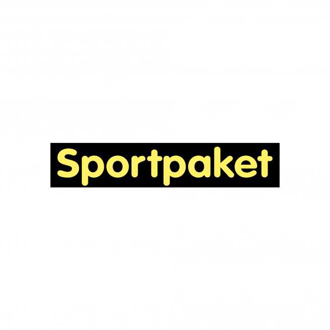 Hinweischilder schwarz/gelb 50 x 10cm   Sportpaket