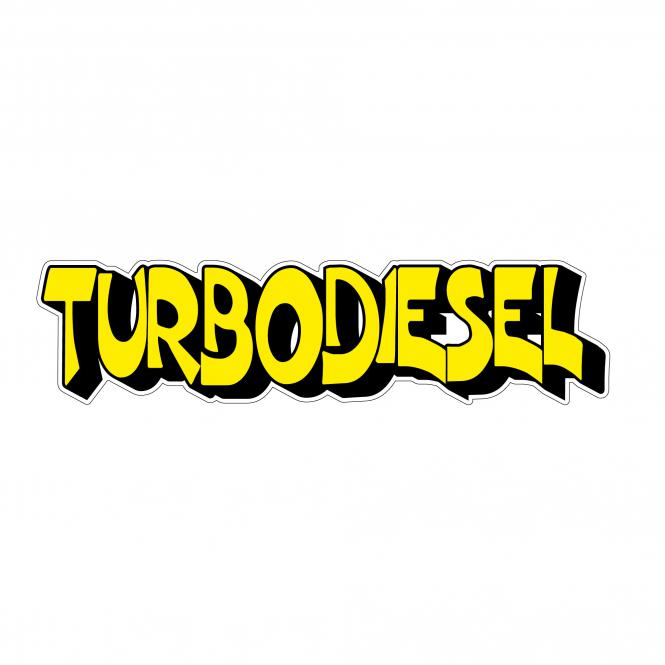 Contour Texts yellow/black   Turbodiesel