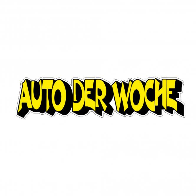 """Kontur-Texte """"Auto der Woche"""" 3D-Design"""