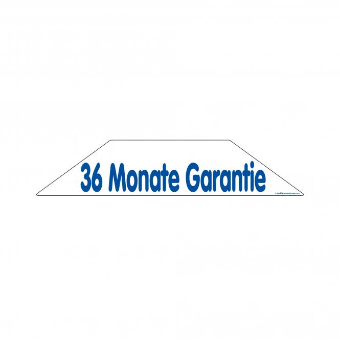 Trapeze Stickers blue / white | 36 months guarantee
