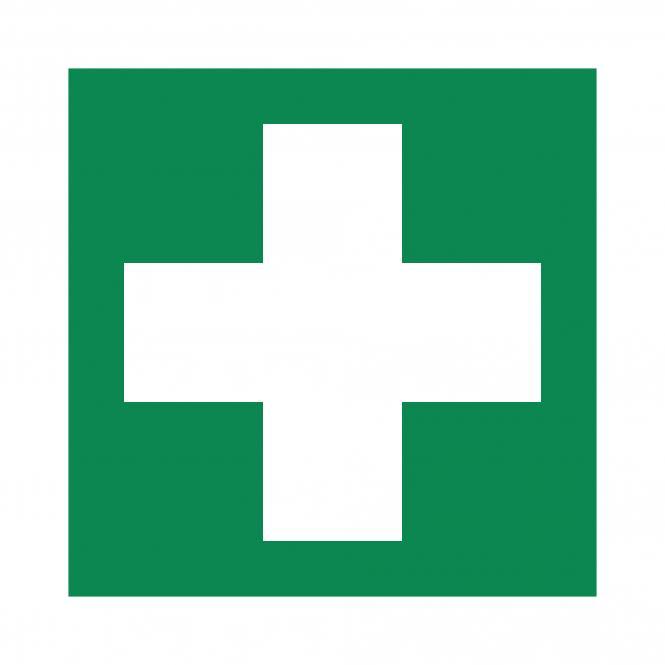Safety Signs according to ASR A1.3, DIN EN ISO7010   Erste Hilfe   Foil