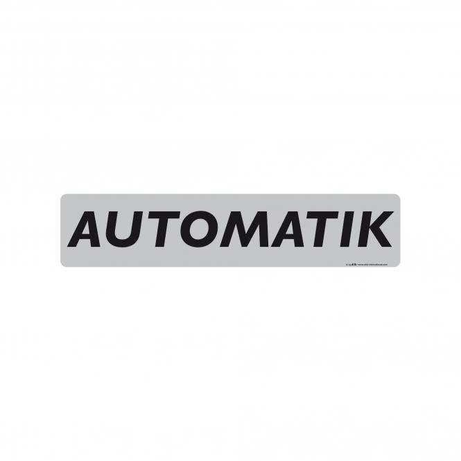 Miniletter, silber/schwarz, verschiedene Texte | Automatik