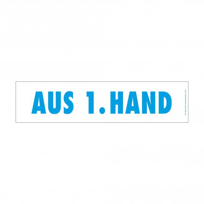 easy stick with German imprint blue | Aus 1. Hand