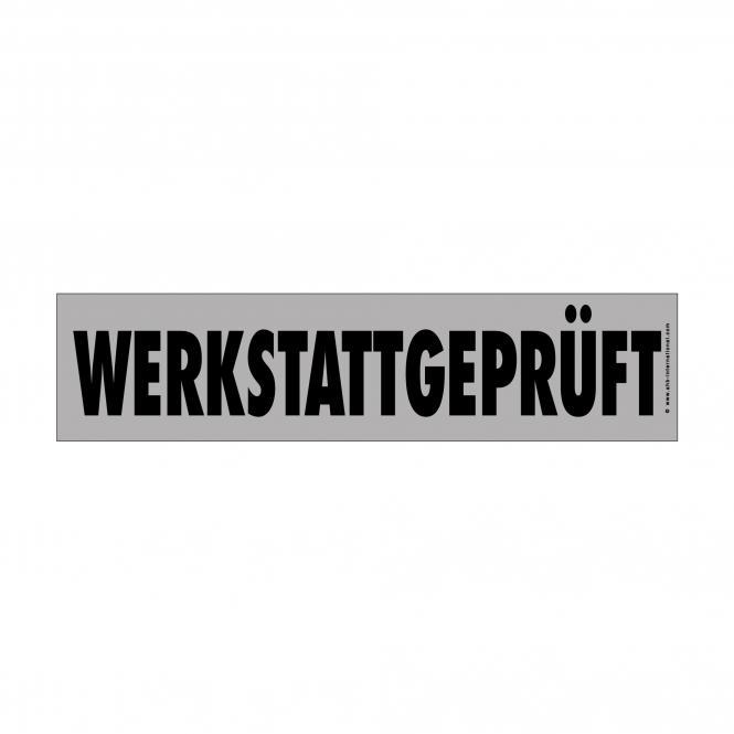 Easy Stick Slogan silver/black | Werkstattgeprüft