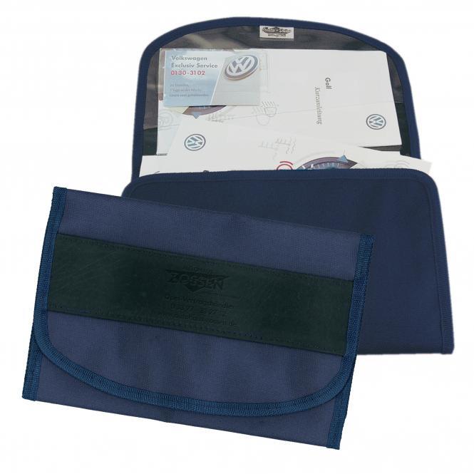 Vehicle Document Bag Lable Soft   blue
