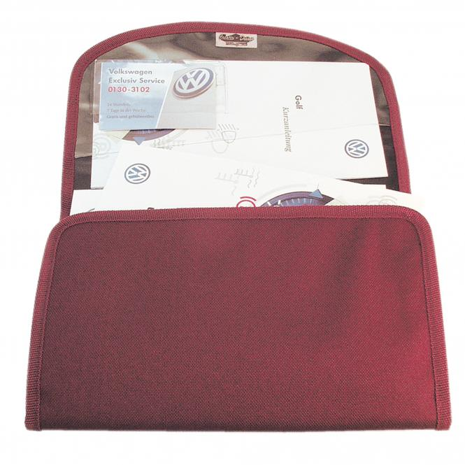 Vehicle Document Bag Lable Soft | black