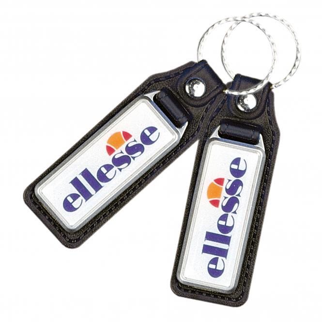 Key Fob, plastic with embedded epoxy sticker