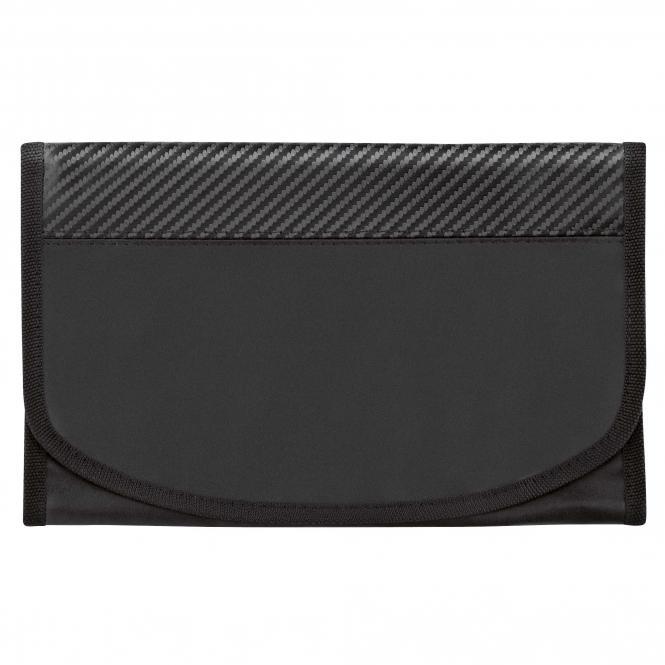Wagenpapiertasche, CarbonLook-Design m. RFID-Folie