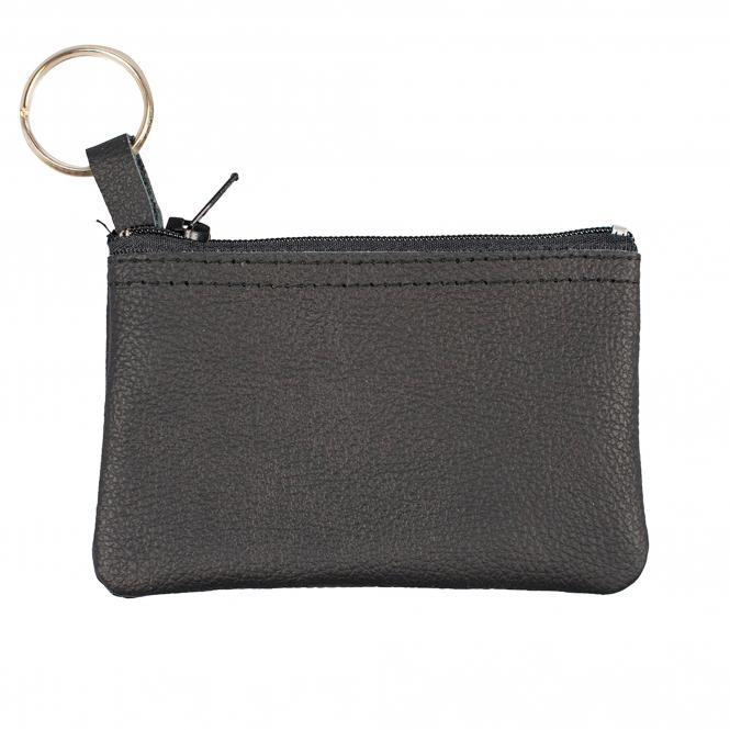 Key Pocekt, black Leather