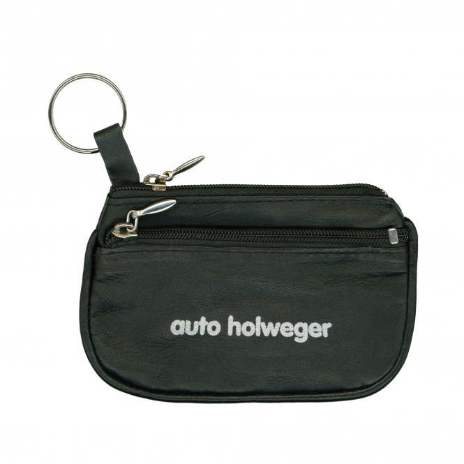 Key Bag, leather black