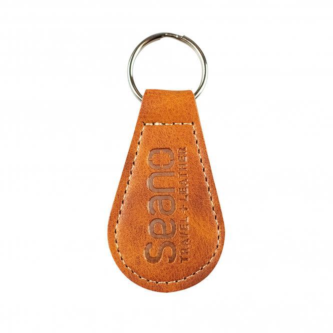 Key fob made of high quality imitation leather