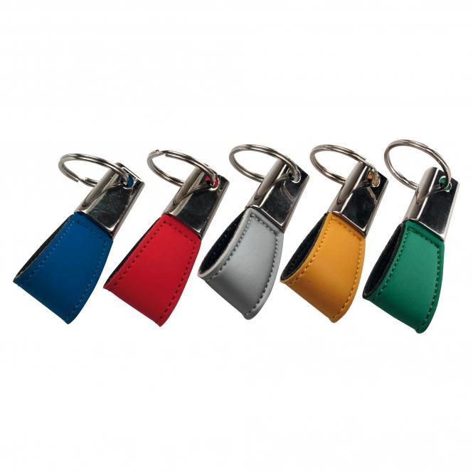 Schlüsselanhänger aus Kunststoff und Metall