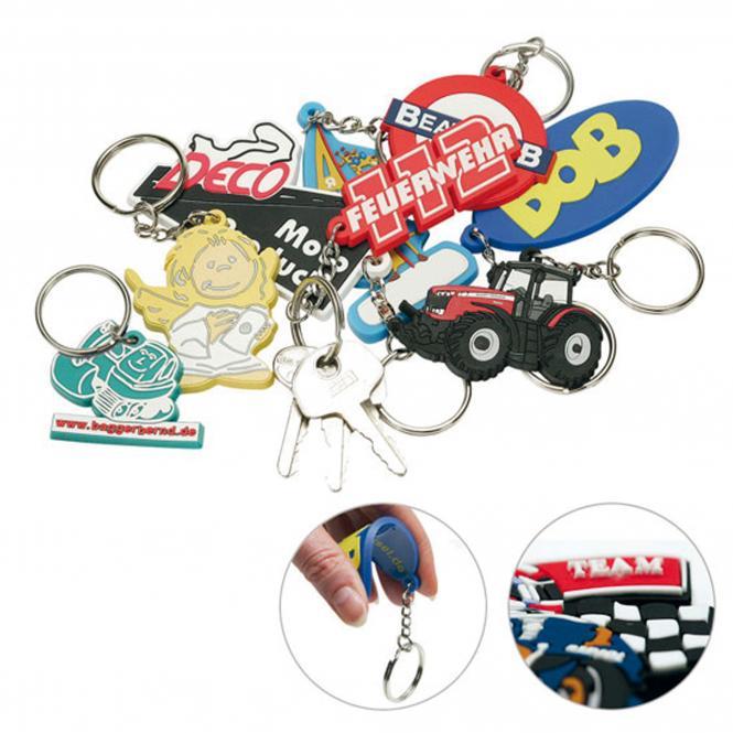 Soft-PVC Schlüsselanhänger