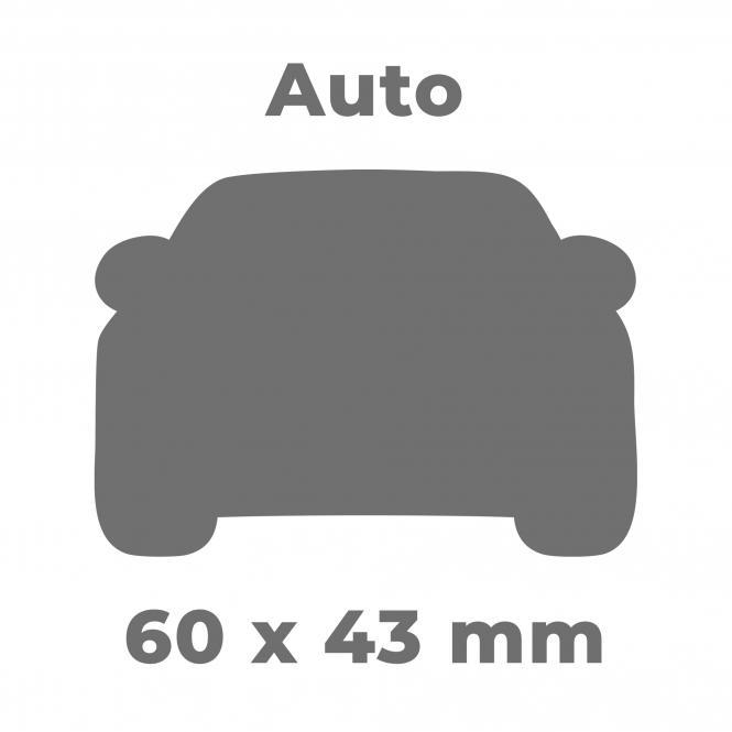 """Soft-PVC Schlüsselanhänger """"2D Design"""", 300 Stück"""