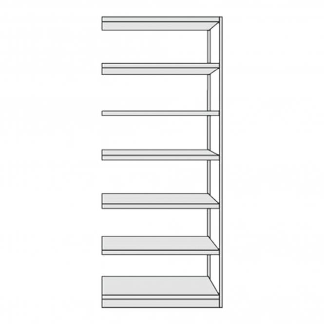 Extension Shelf Unit f. compl. shelf, without back