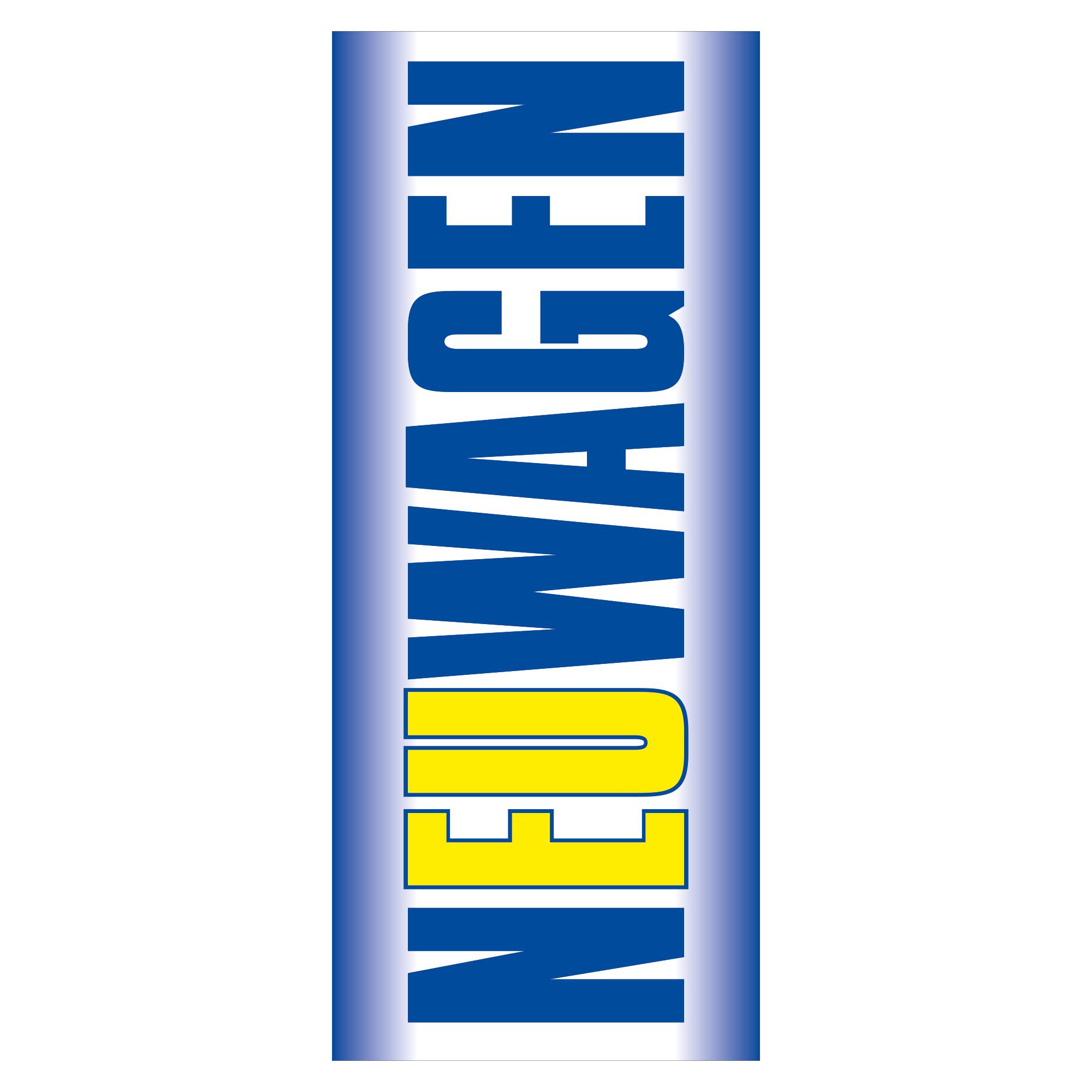 """Fahne """"Neuwagen"""", blau / gelb"""