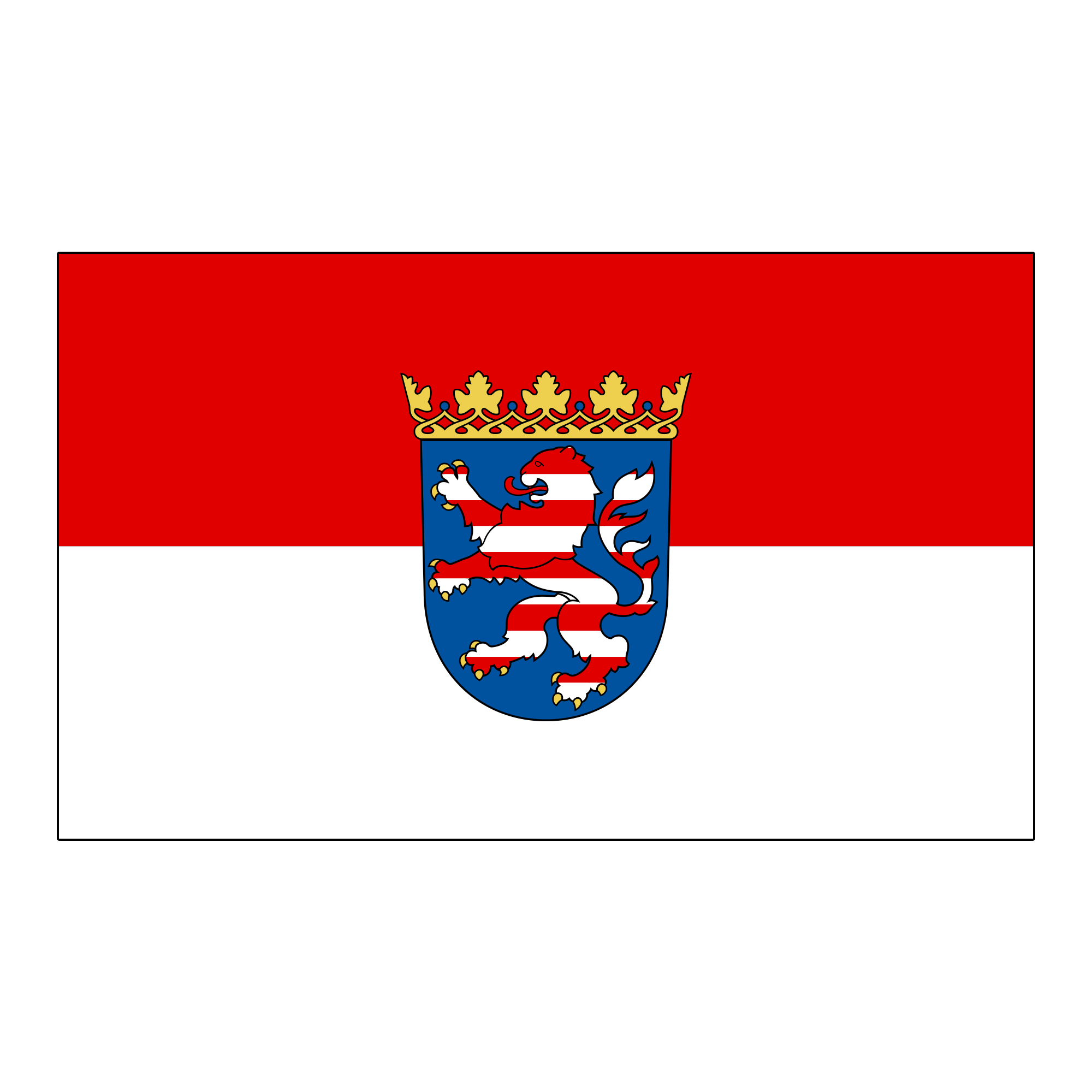 "Nationalfahne ""Hessen"""