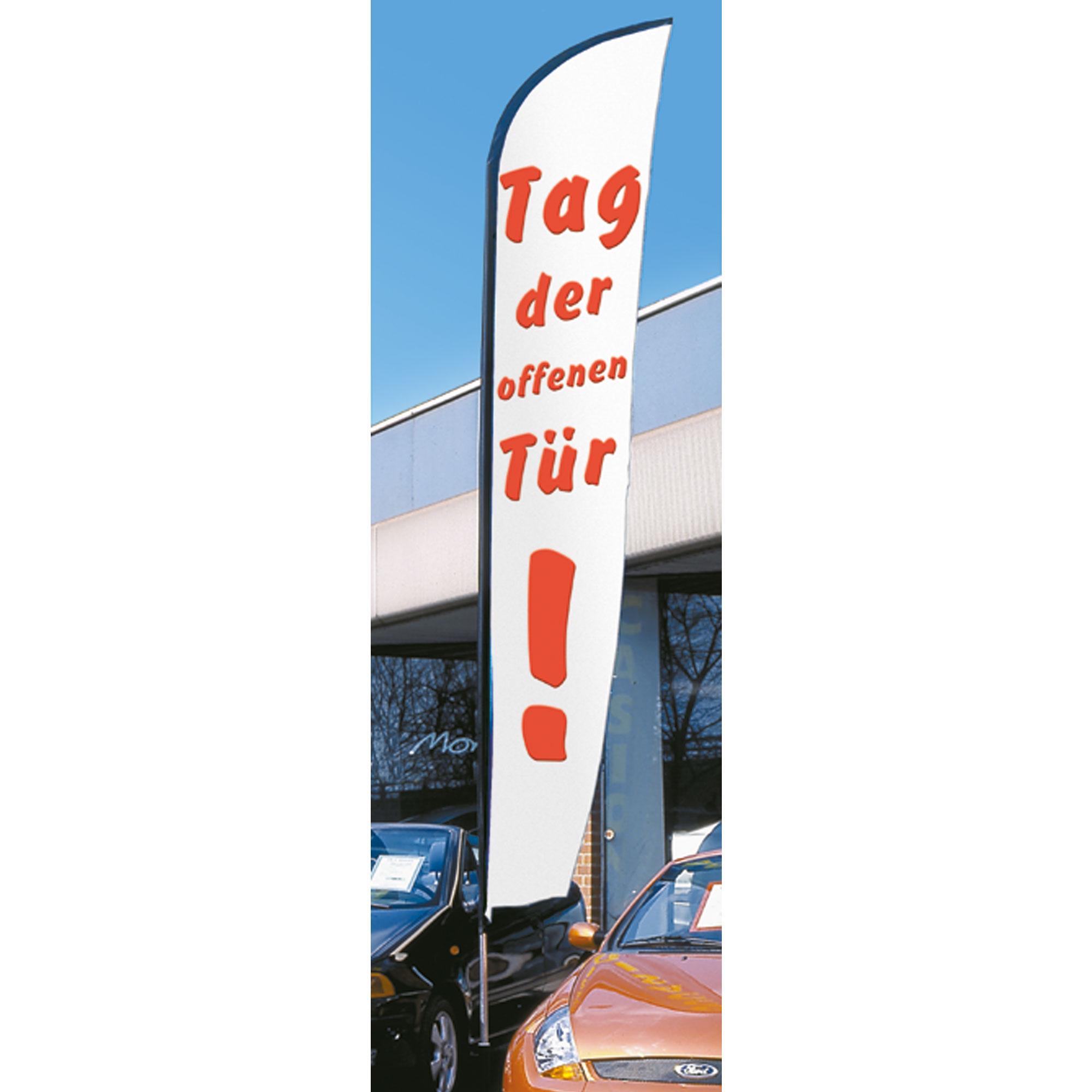 "Flying Flag 5m, ""Tag der offenen Tür"""