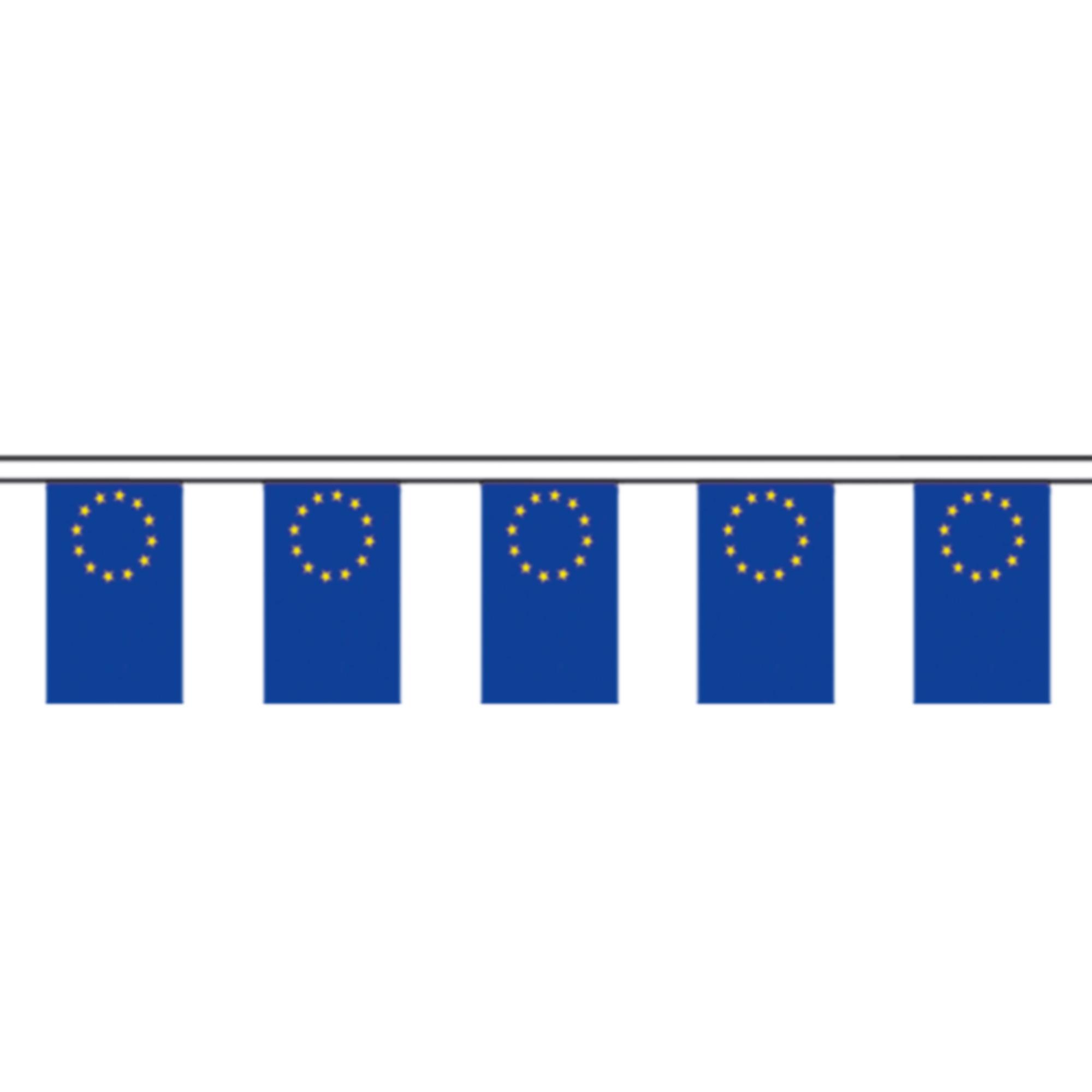 Länderfahnen Wimpelkette Europarat