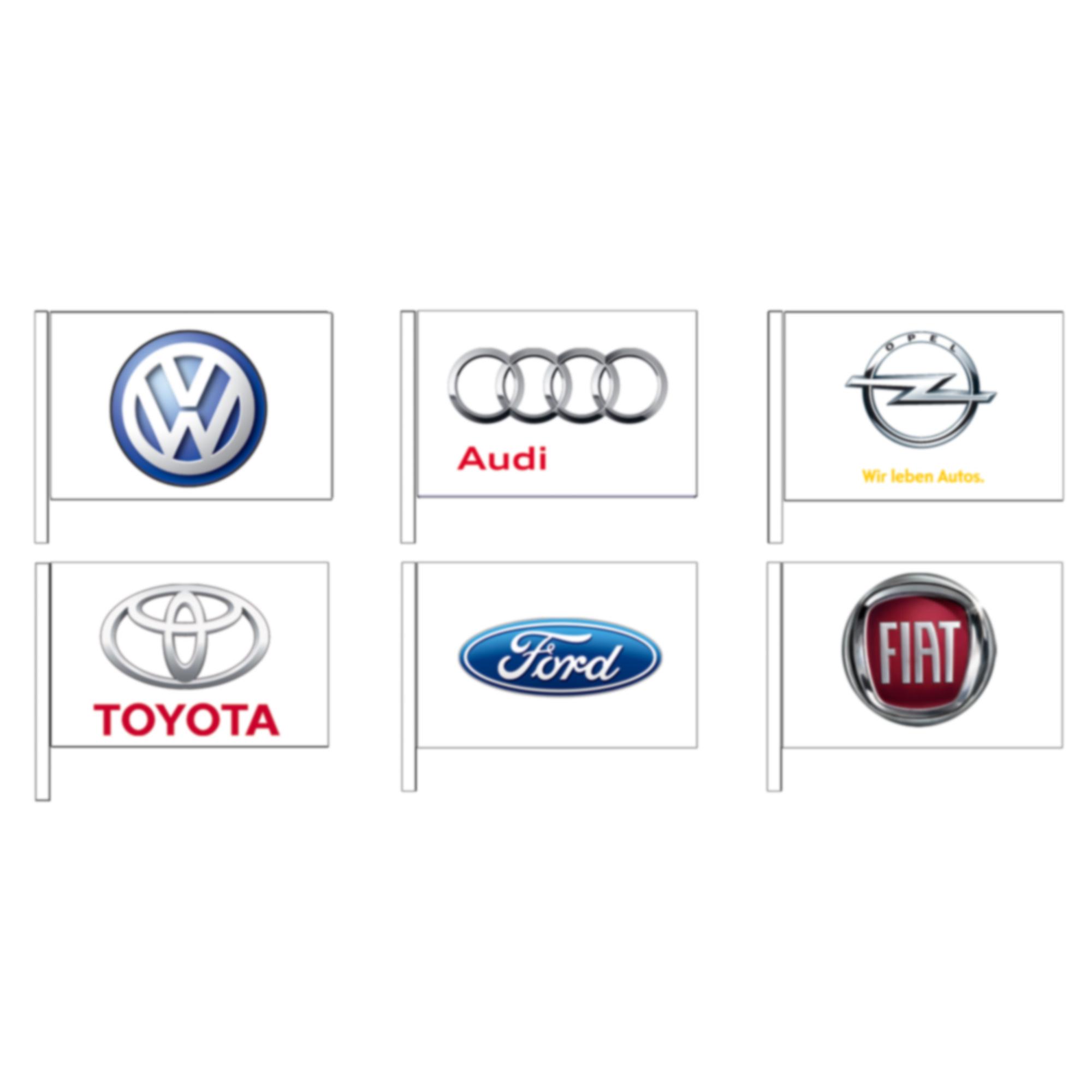 """Fahnen """"Automarken"""" Alfa Romeo"""