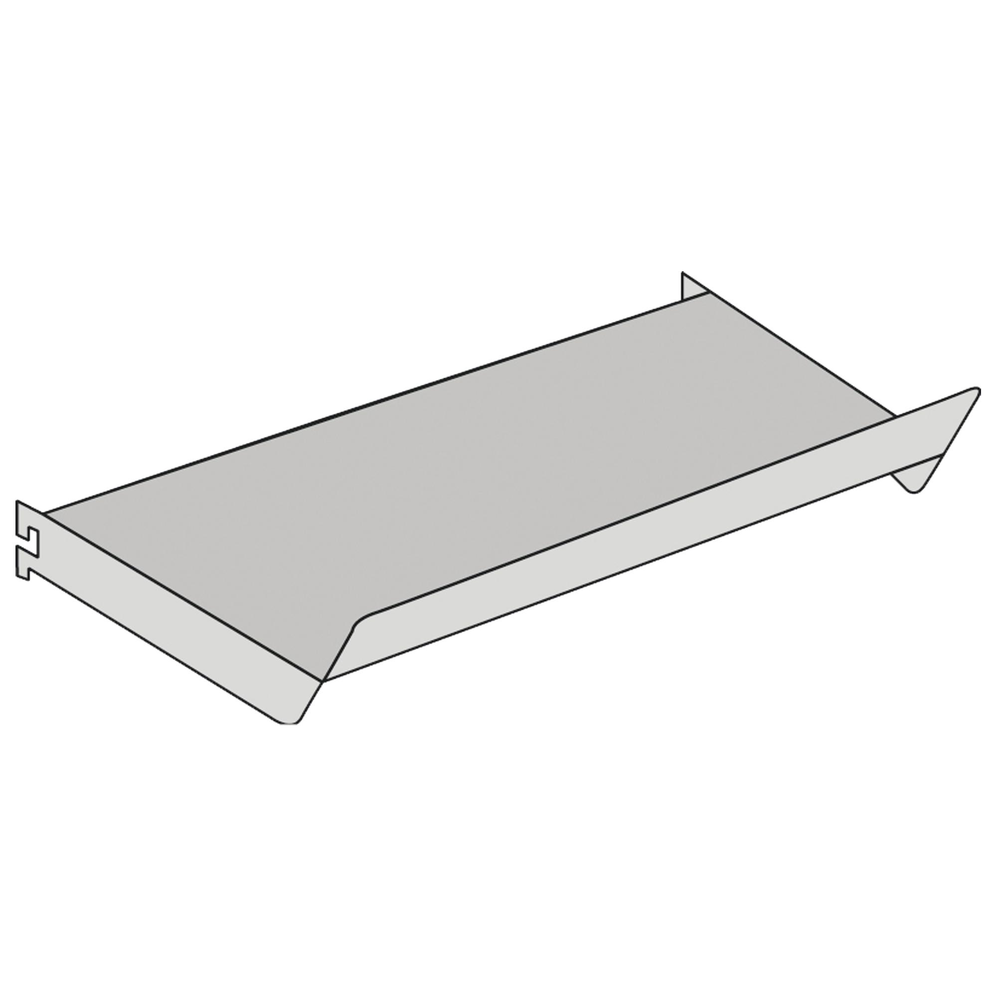 Schrägboden für Freiarm-Regal, B 750 x T 300 mm
