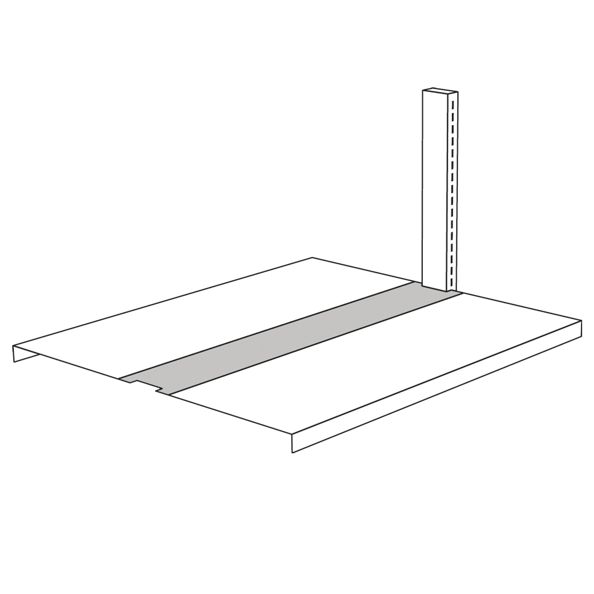 Überbrückung für Freiarm-Regal, 750 mm breit