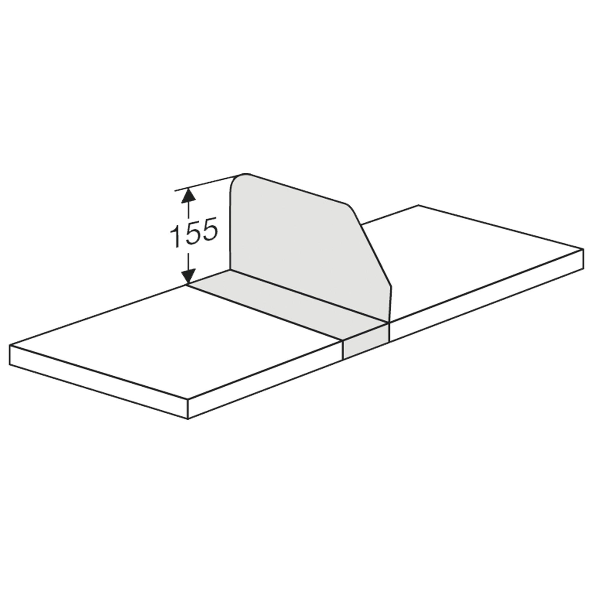Fachteiler verschiebbar, 600 mm für Komplett-Regal