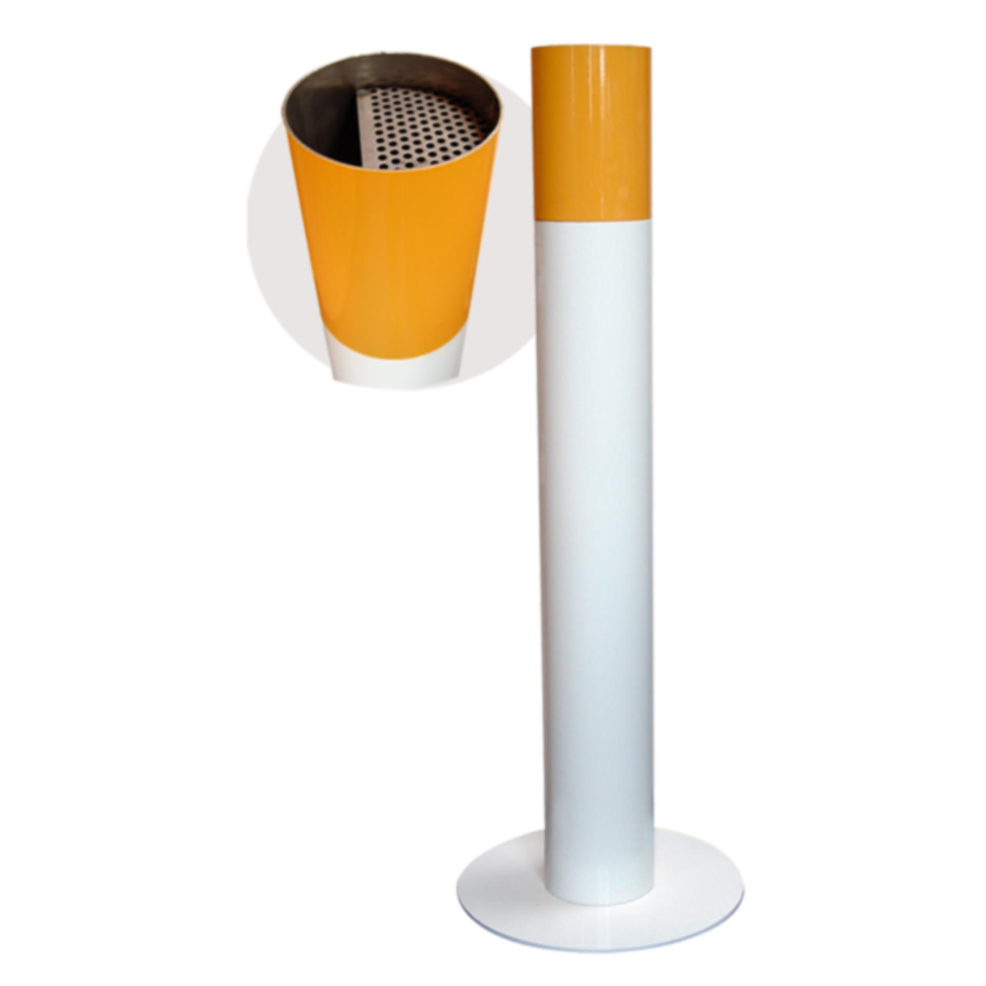 Aschenbecher im Zigarettenlook