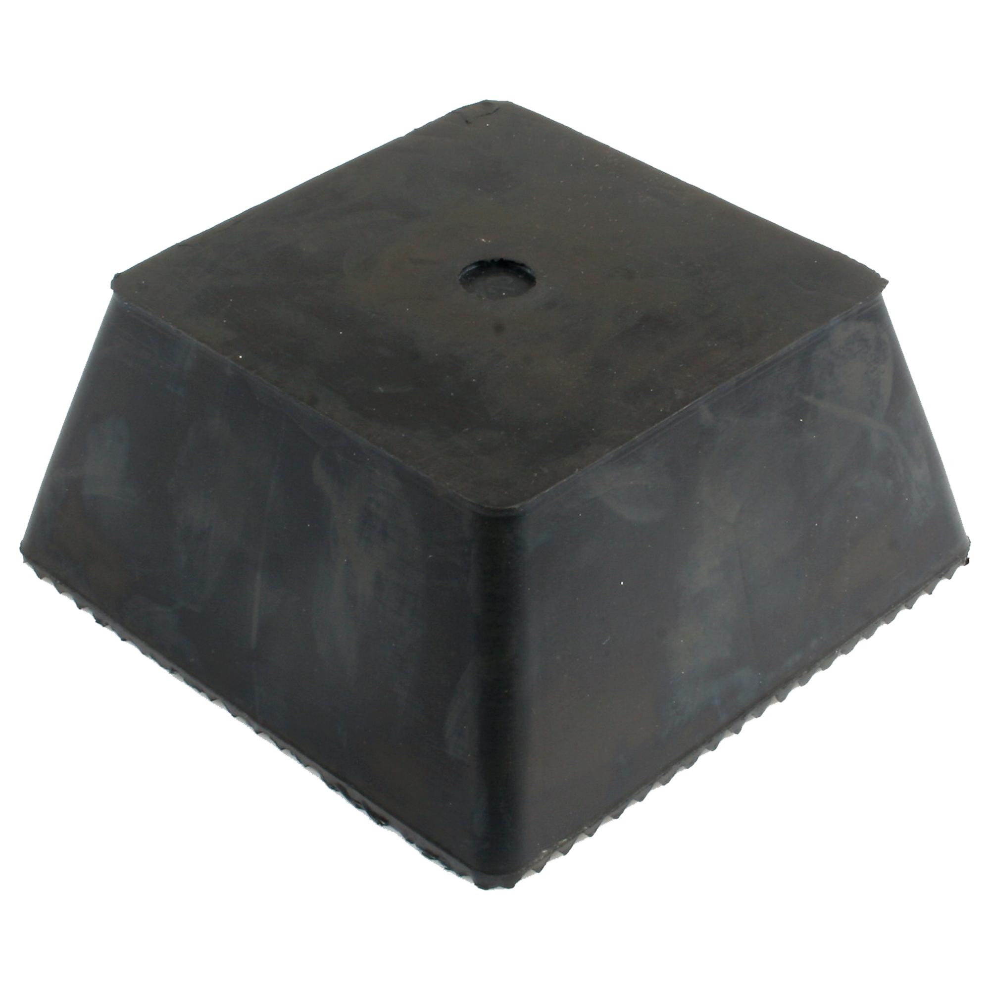 Gummi Trapezblock, universell mit Noppen