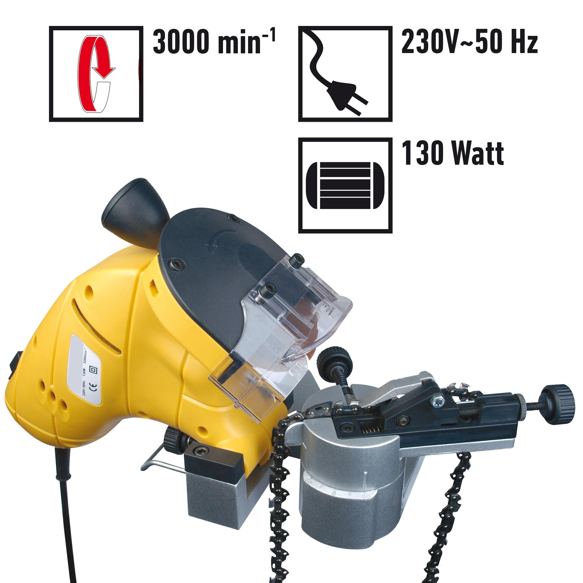 Elektrisches Sägekettenschärfgerät