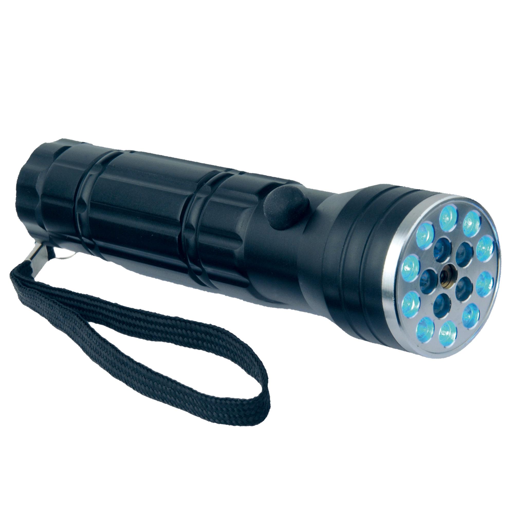 led taschenlampe mit uv licht und laserpointer jetzt online kaufen im ahb shop. Black Bedroom Furniture Sets. Home Design Ideas