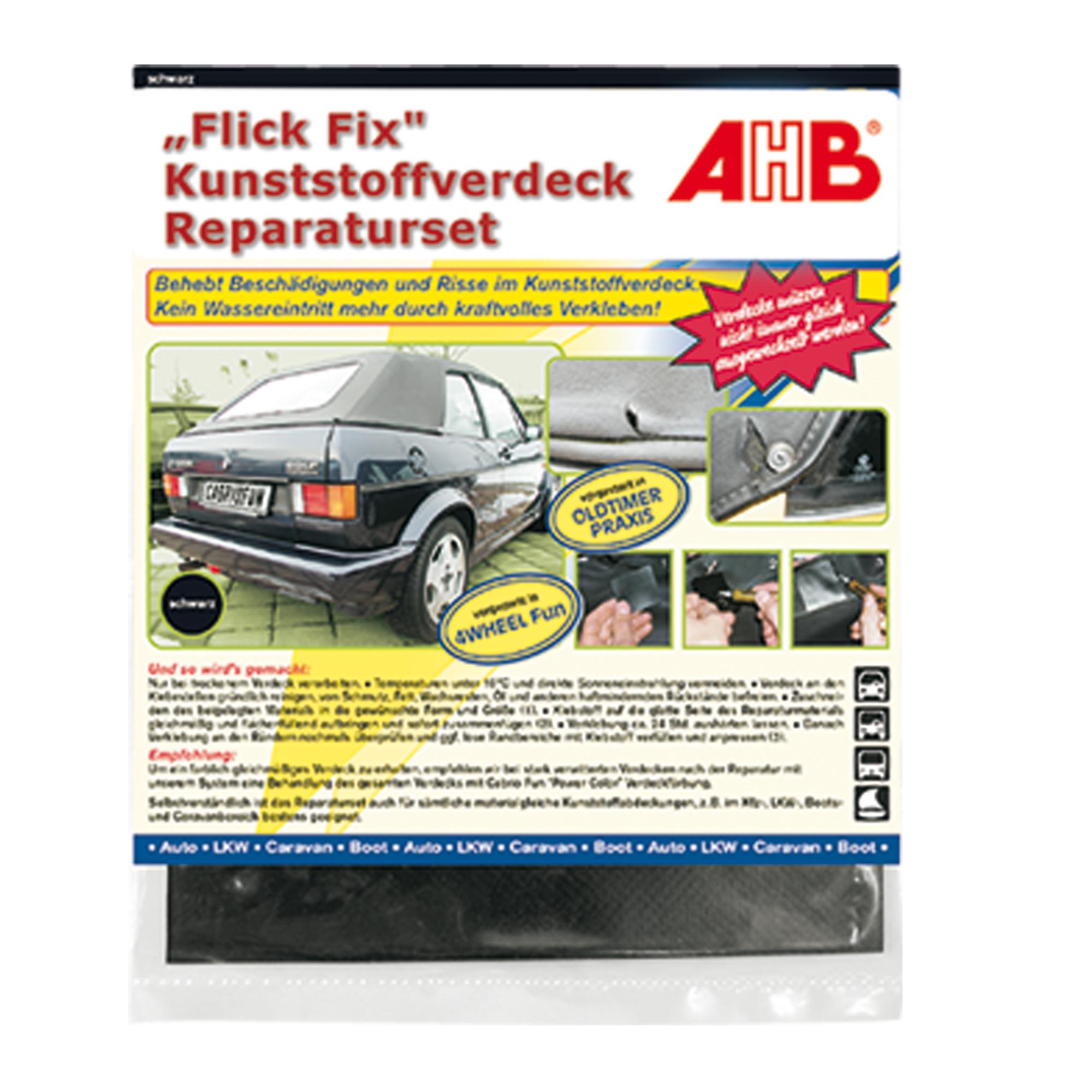 """""""Flick Fix"""" Kunststoffverdeck"""