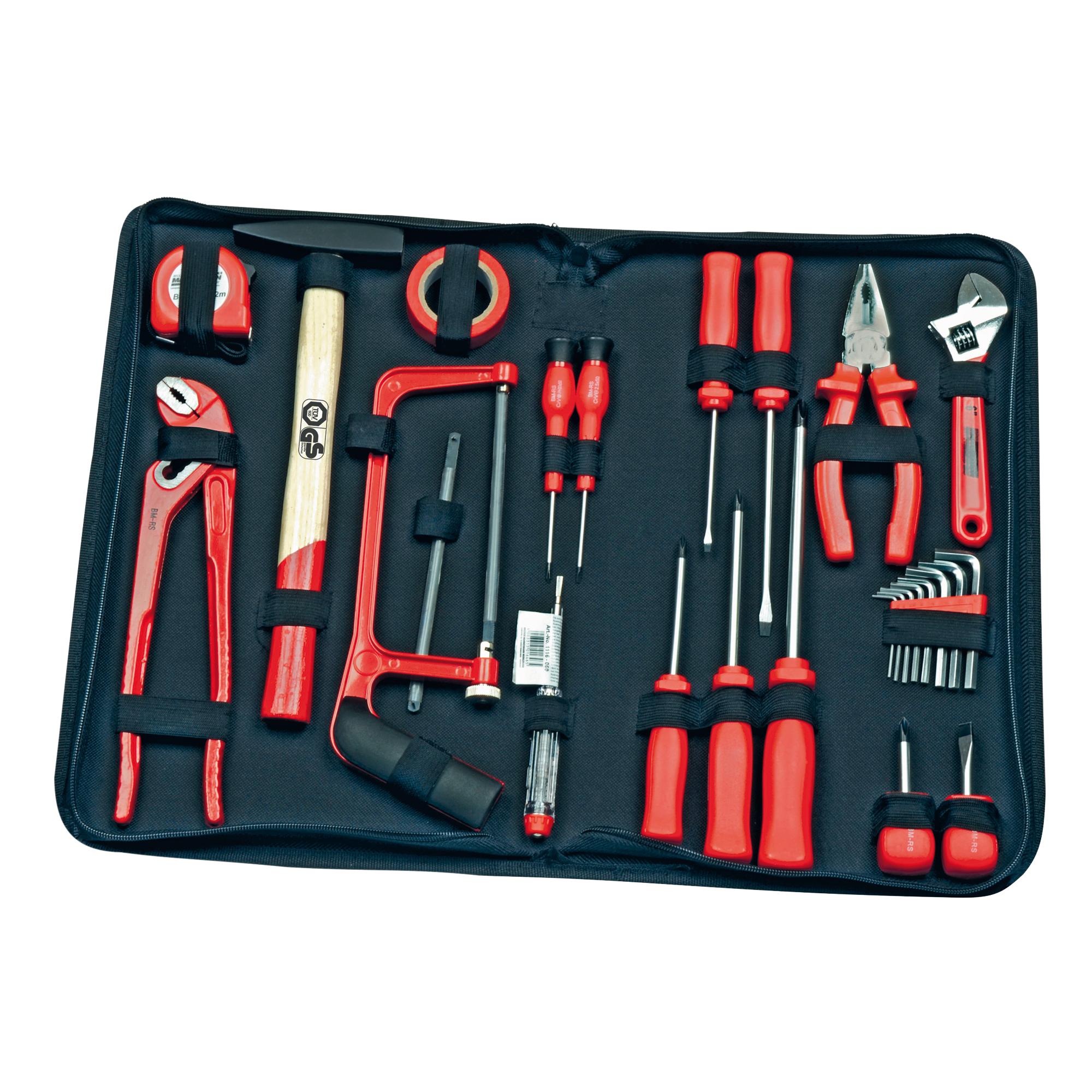 Werkzeugmappe im Collegestil