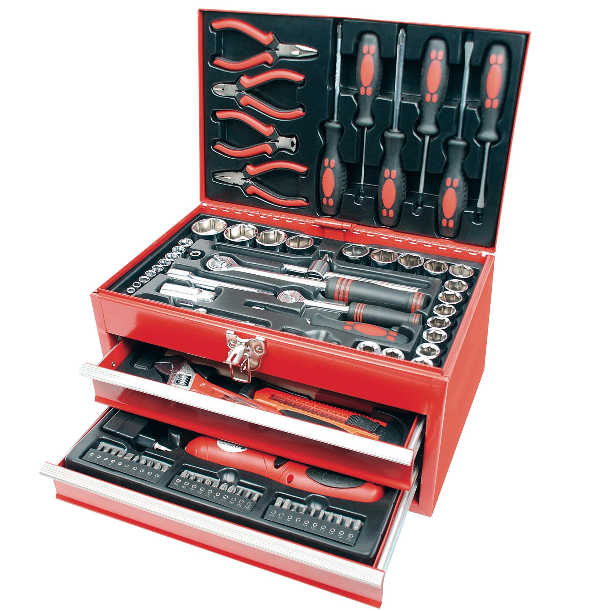 Werkzeugbox 155teilig
