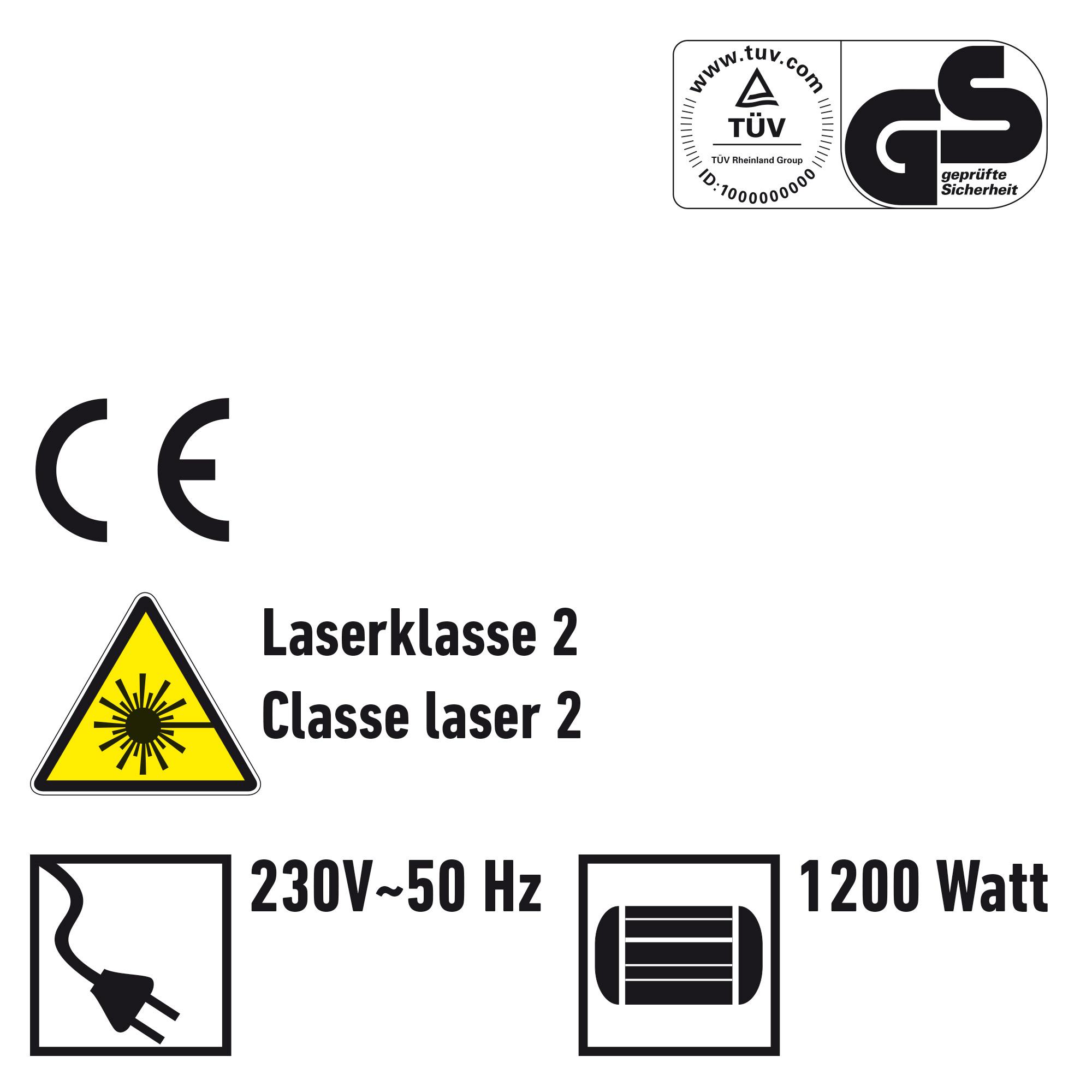 Elektronik-Pendelhub-Stichsäge m. Laser-Schnittf.