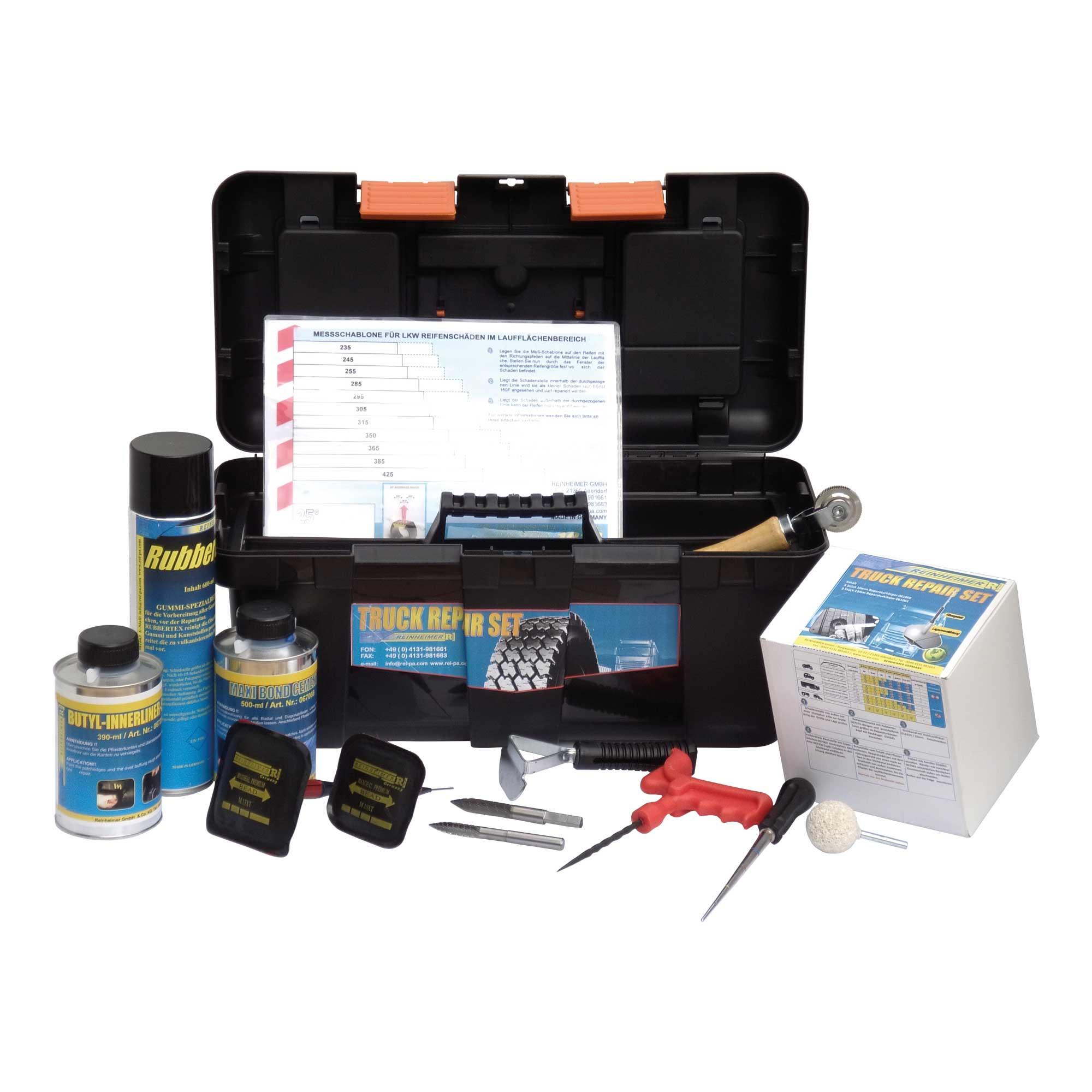 Reifenreparaturwerkzeug-Kit für LKW