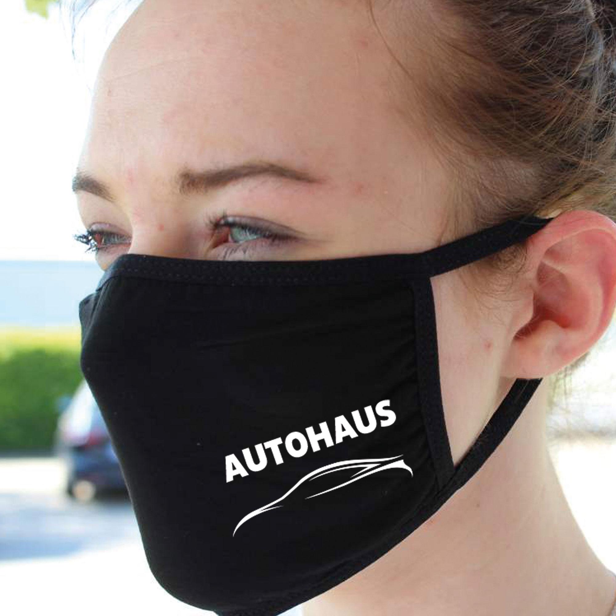 Mund- & Nasen-Maske mit Firmeneindruck