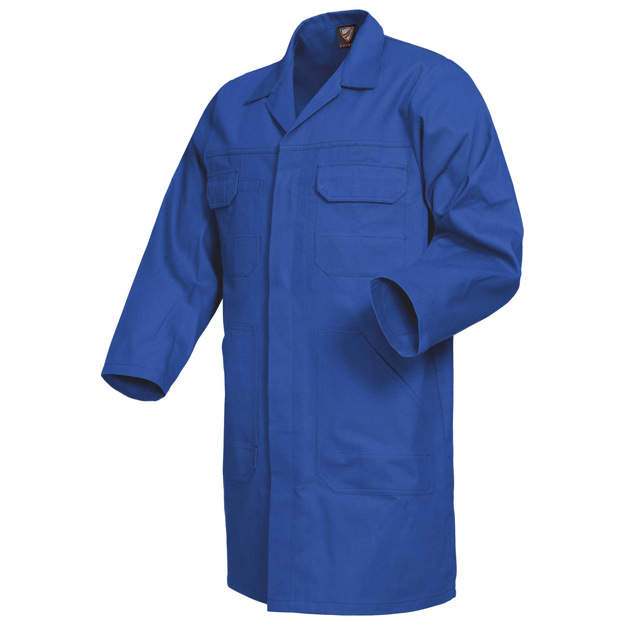 Arbeitskittel, blau
