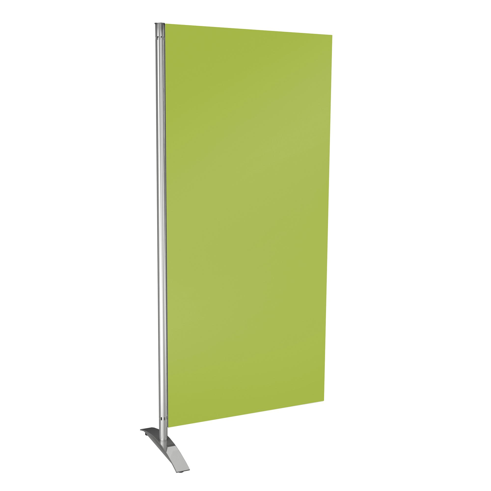 Holzwand, grün für Sichtschutz