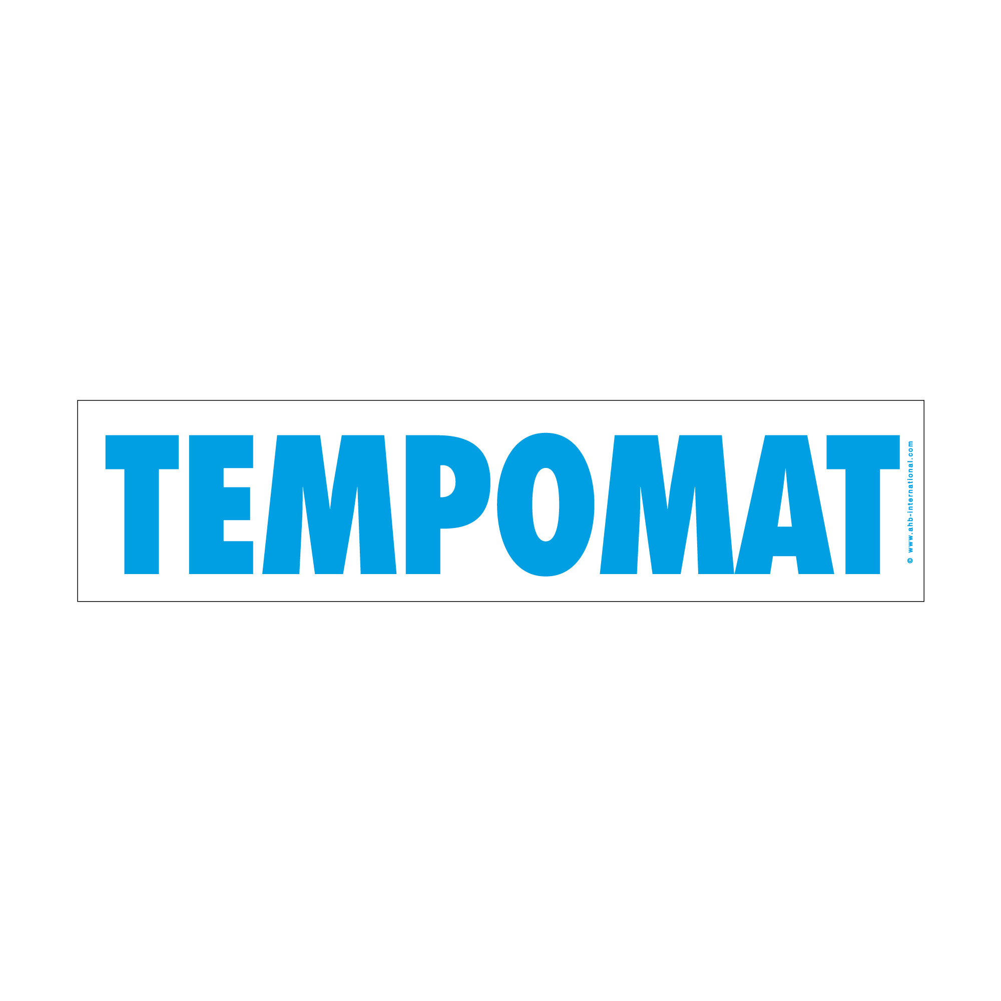 "Hinweisschild easy-stick ""Tempomat"""