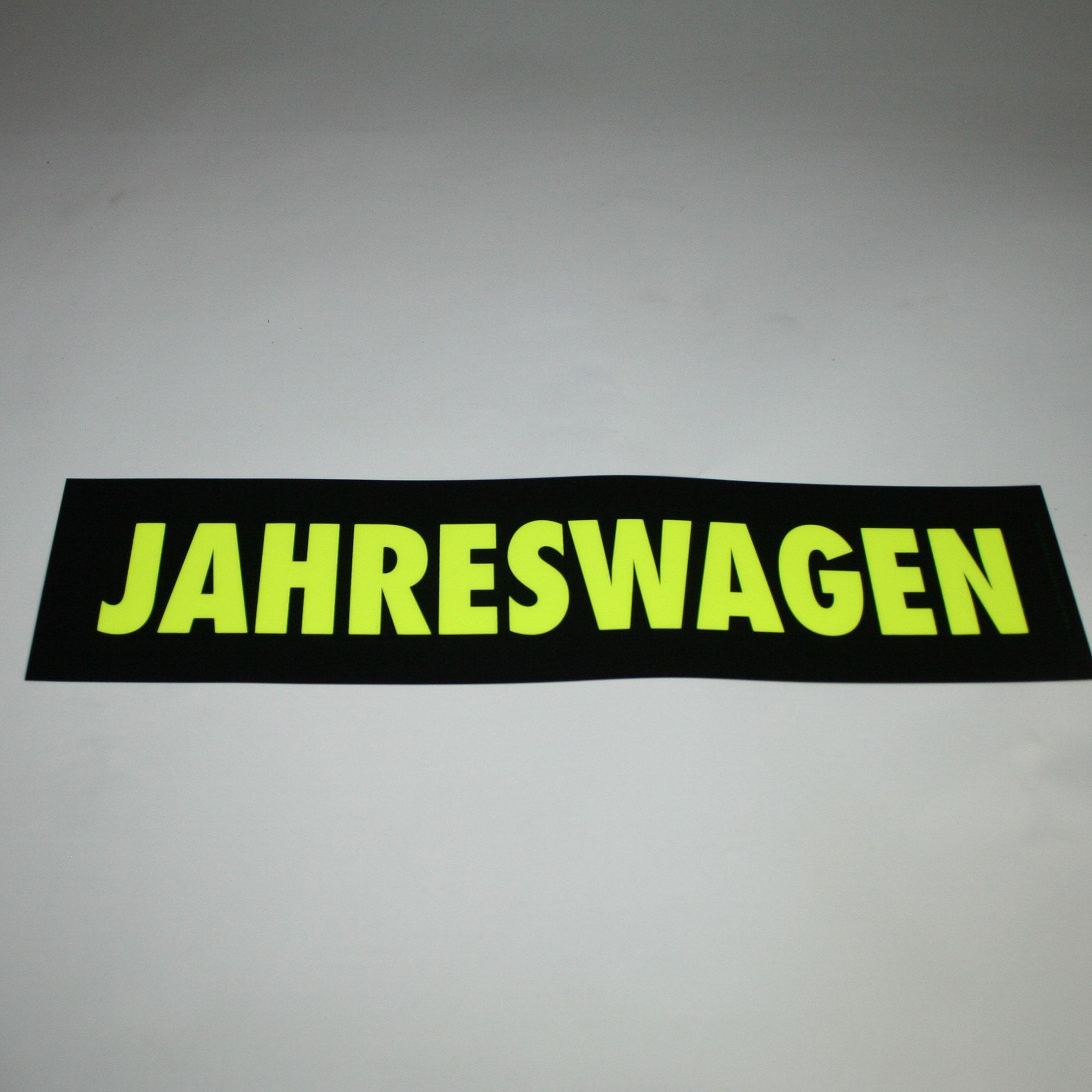 """easy-stick """"Jahreswagen"""" 40x10 cm"""