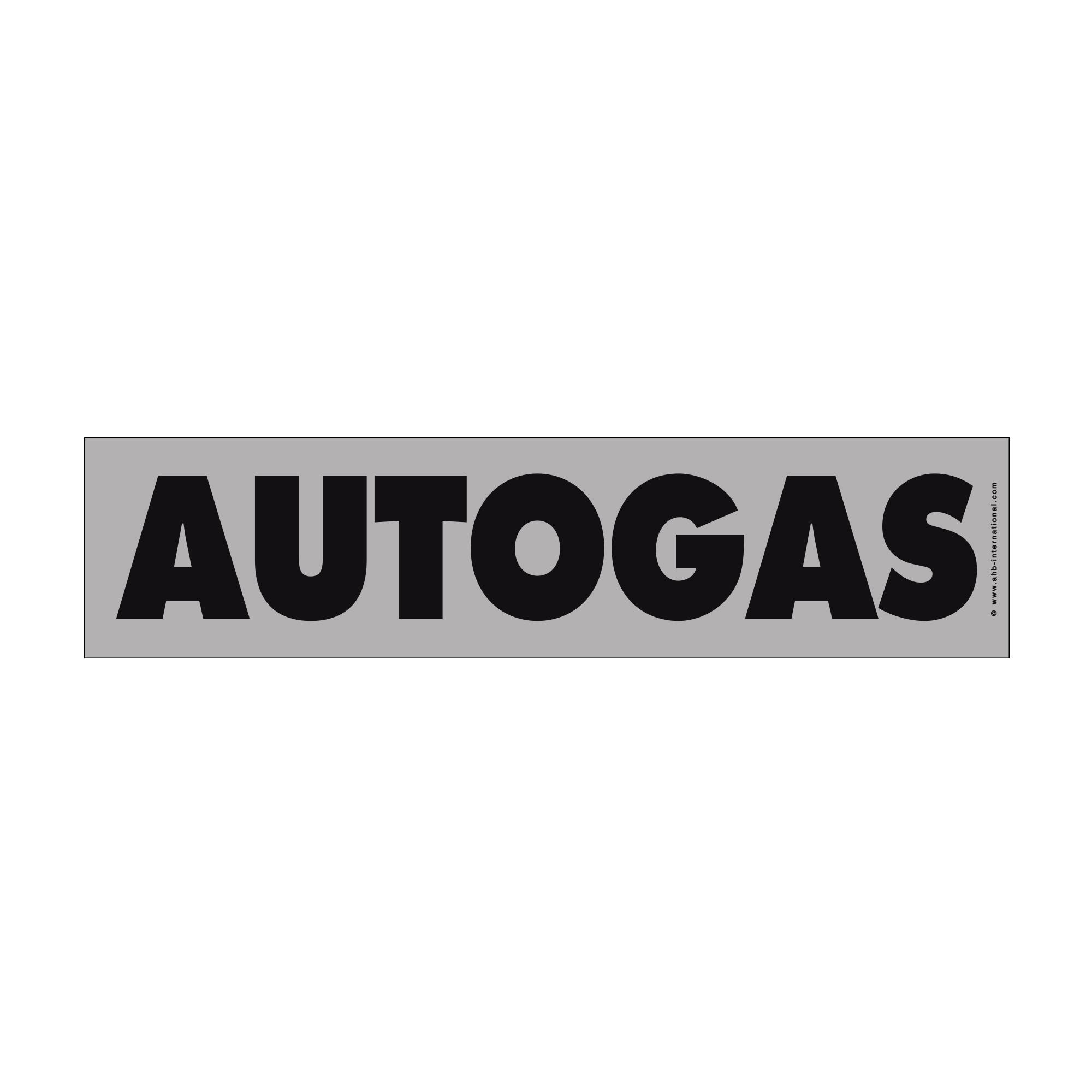 "Hinweisschild easy-stick ""Autogas"""
