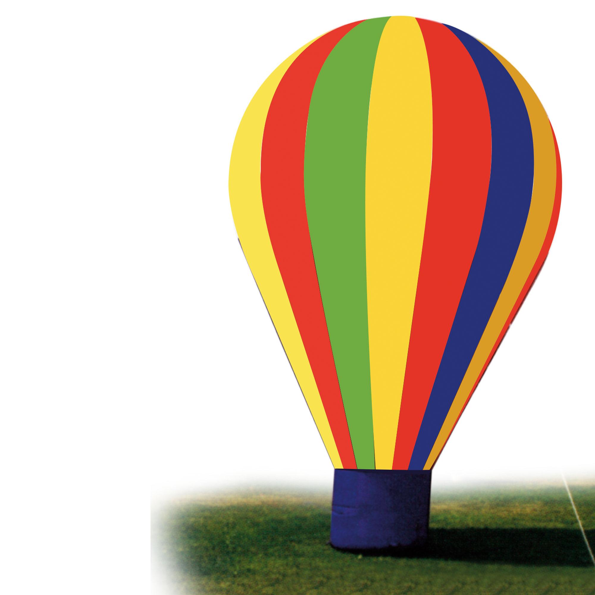 Ballon aus Ballonstoff