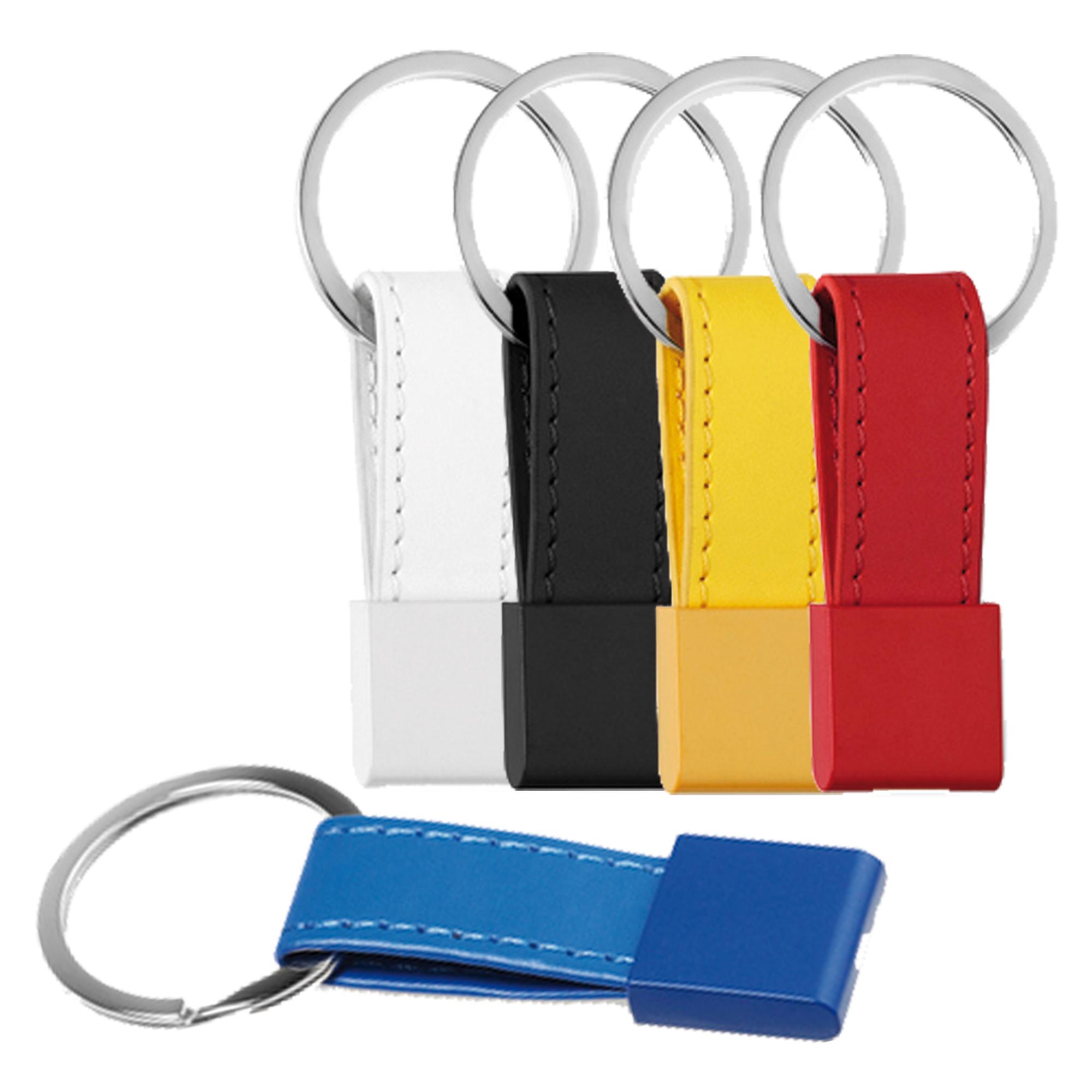 Schlüsselanhänger aus Metall und Kunststoff