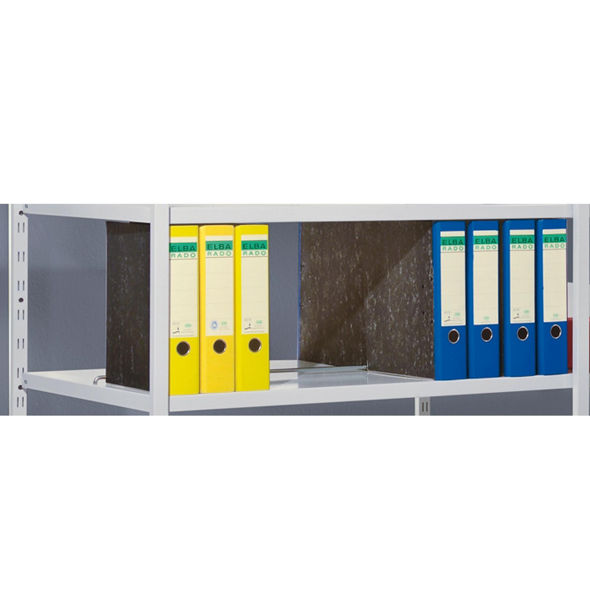 Trennstege für 600 mm tiefe Fachböden