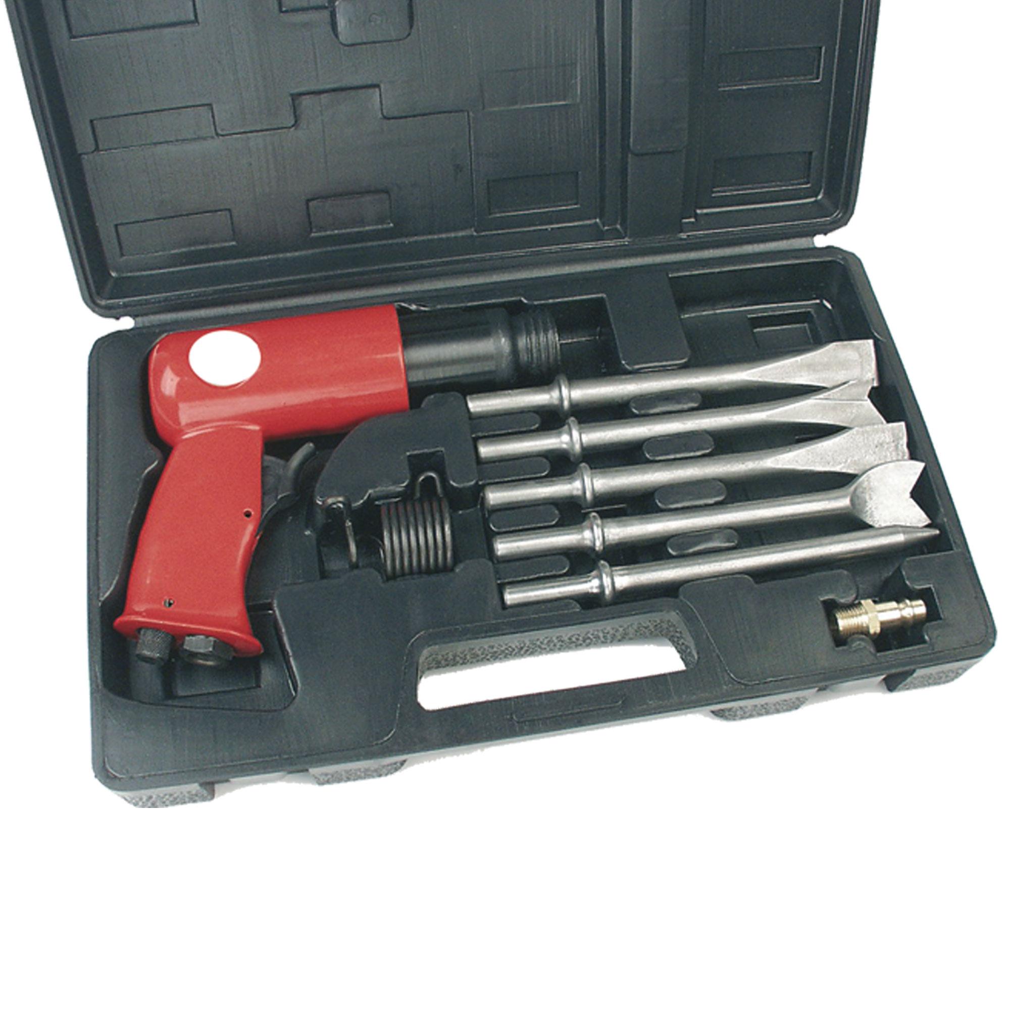 Druckluft-Meißelhammer-Set DMH 250/1