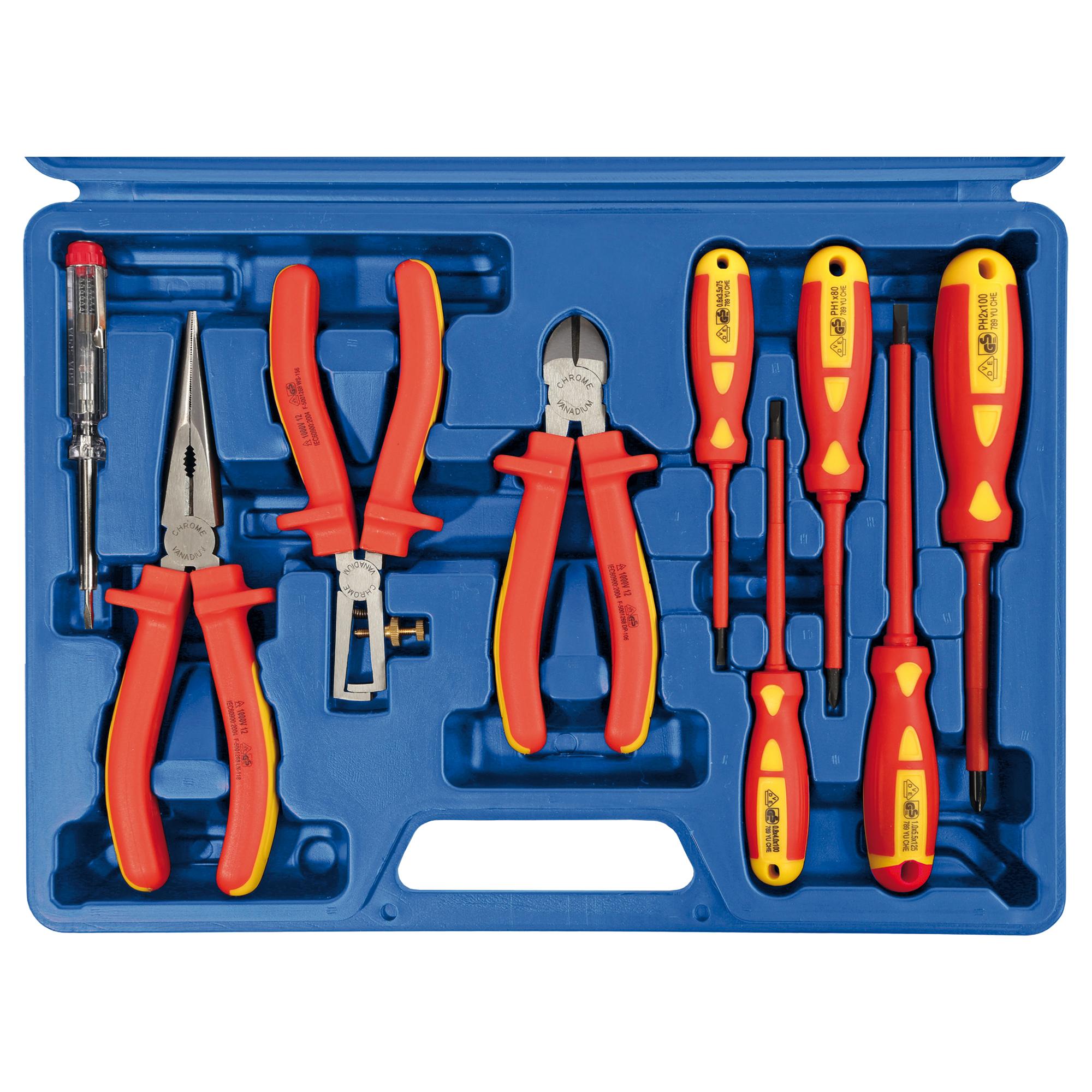 VDE-Werkzeugsatz, 9-teilig