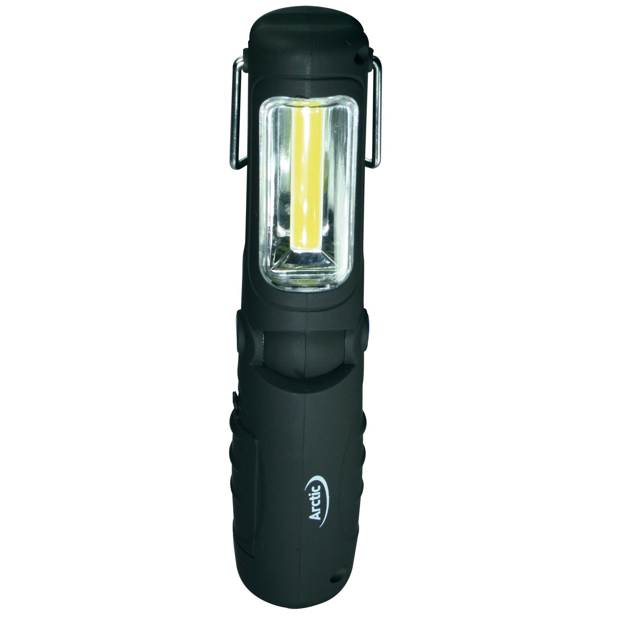 Arbeitslampe COB + 5 LED